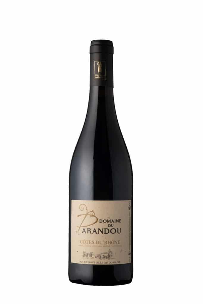 CDR Côtes du Rhône Parandou Rouge - Domaine du Parandou