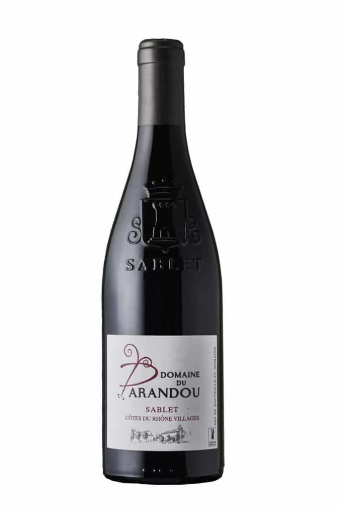 Sablet Rouge - Domaine du Parandou, Côtes du Rhône Villages Sablet