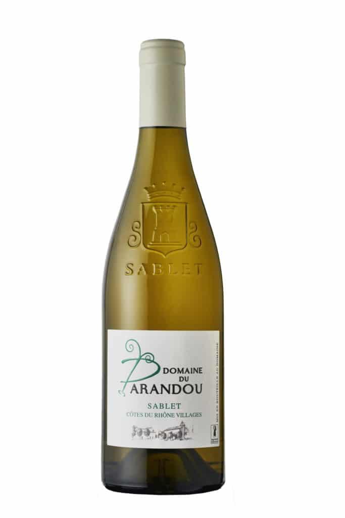 Sablet Blanc - Domaine du Parandou, Côtes du Rhône Villages Sablet